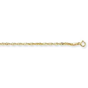 "9ct Gold 20"" Singapore Chain"