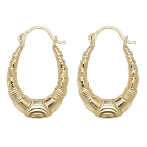 9ct Gold Small Creole Earrings