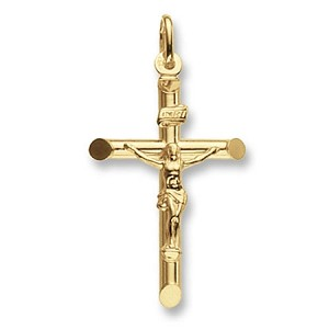 9ct Gold Medium Crucifix