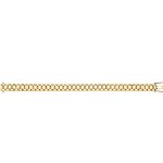 9ct Gold Child's Watch Strap Bracelet