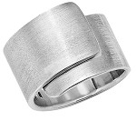 Sterling Silver Wrap Ladies Ring