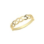 9ct Gold Ladies Celtic Ring