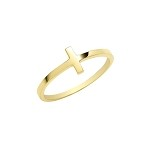 9ct Gold Cross Ring