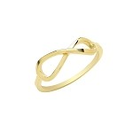 9ct Gold Infinity Ring